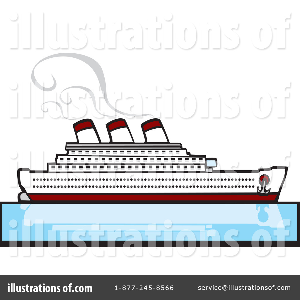 cruise ship clipart 60183 illustration by xunantunich rh illustrationsof com cruise ship clip art free vector cruise ship clipart black and white