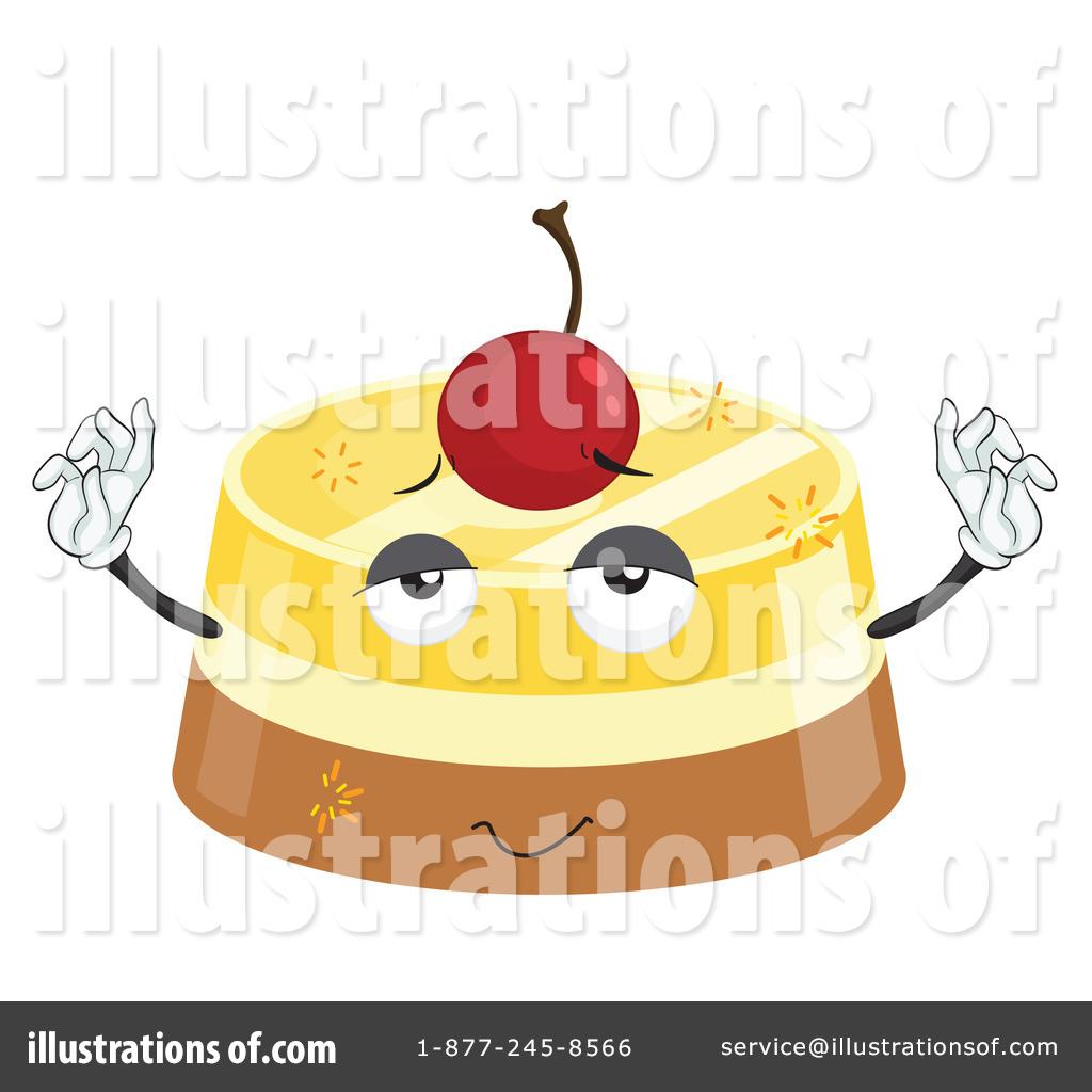 Custard Clipart #1134275 - Illustration by colematt
