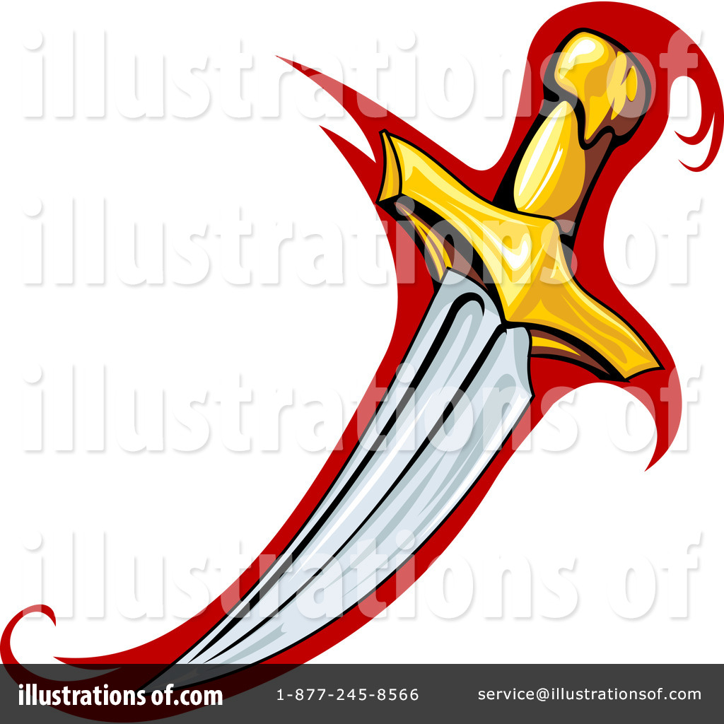 Clip Art Dagger Clipart dagger clipart 1084381 illustration by seamartini graphics royalty free rf graphics