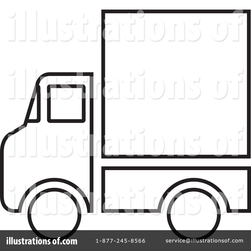 Delivery Van Clipart #44810 - Illustration by Lal Perera