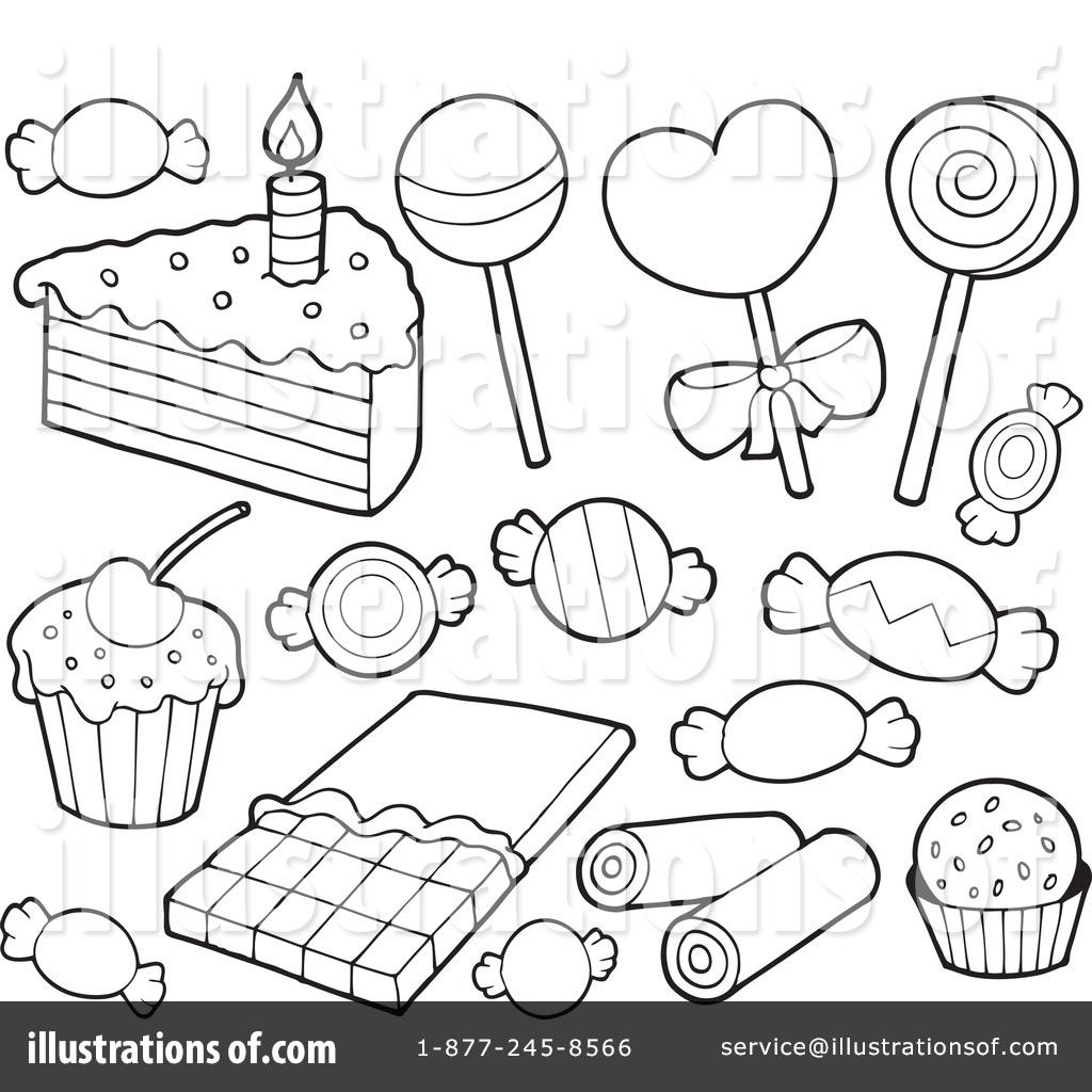 Desserts Clipart 1080910 Illustration By Visekart