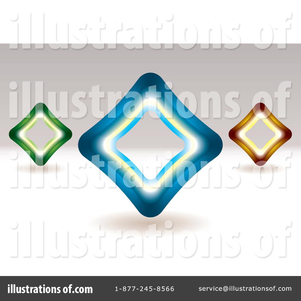 Royalty-Free (RF) Diamonds Clipart Illustration by michaeltravers