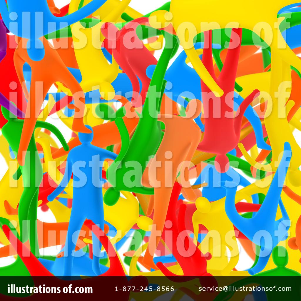 Diversity Clipart #31993 - Illustration by 3poD