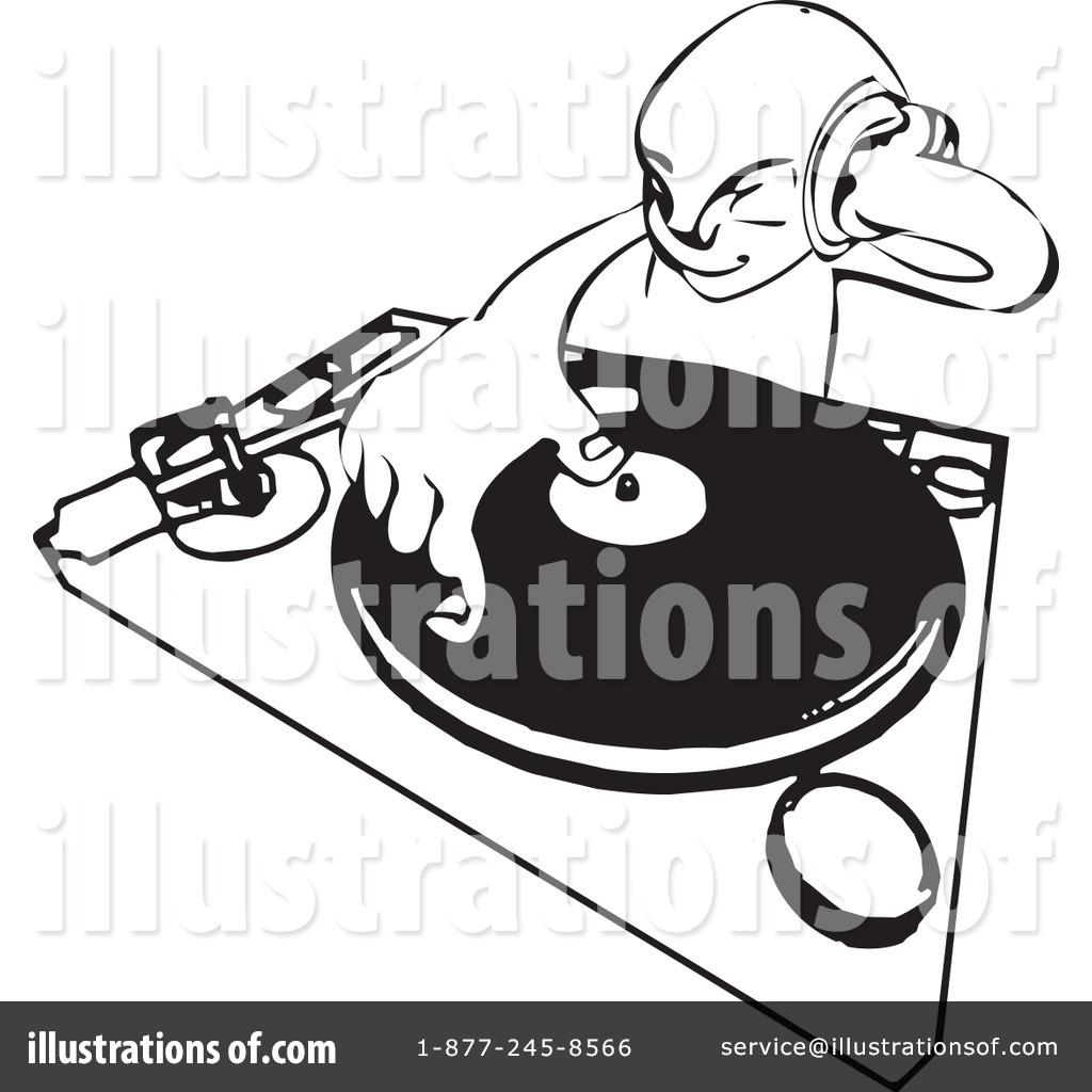 Dj Clipart #11399 - Illustration by AtStockIllustration
