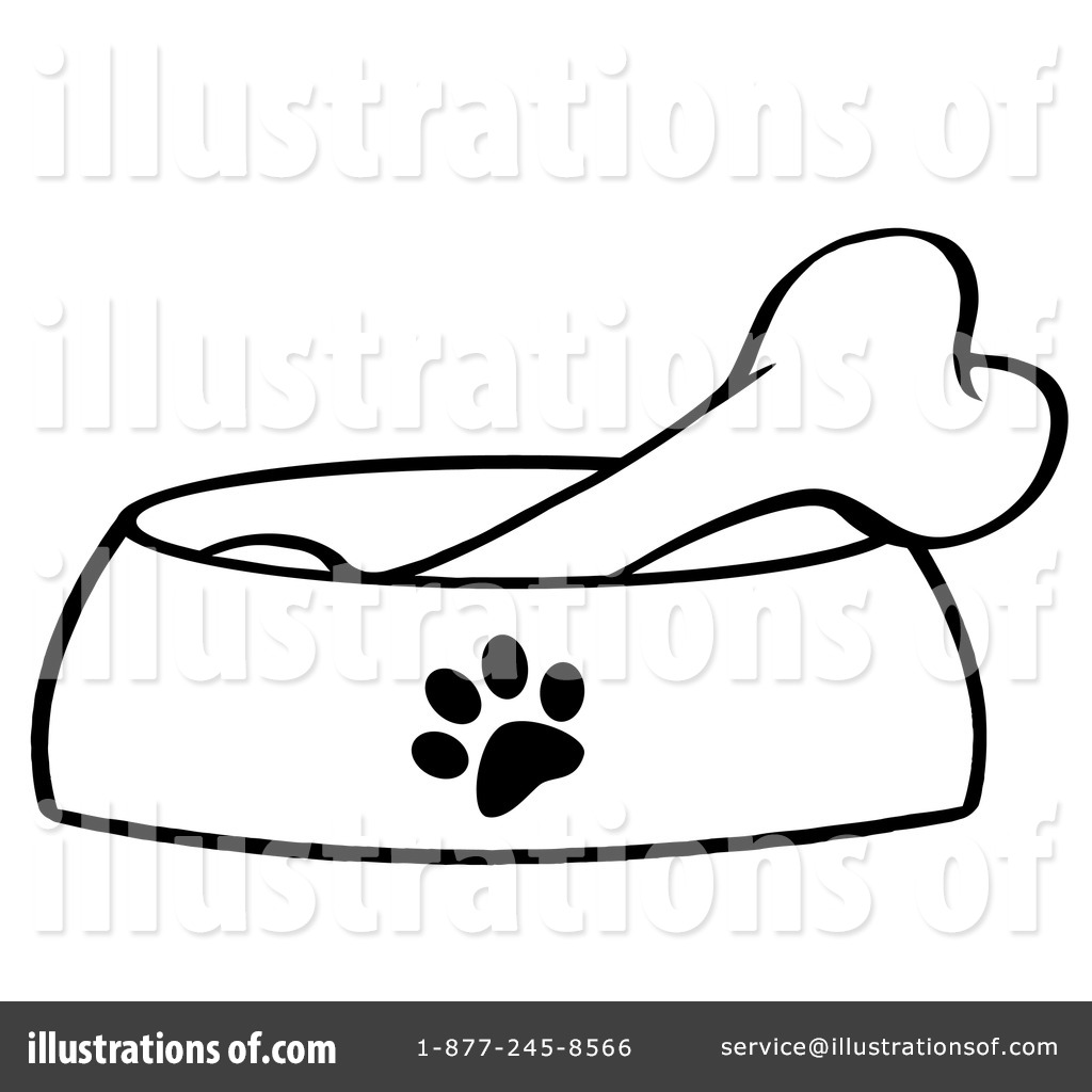 Royalty-Free (RF) Dog Bone Clipart Illustration by Hit Toon - Stock ...