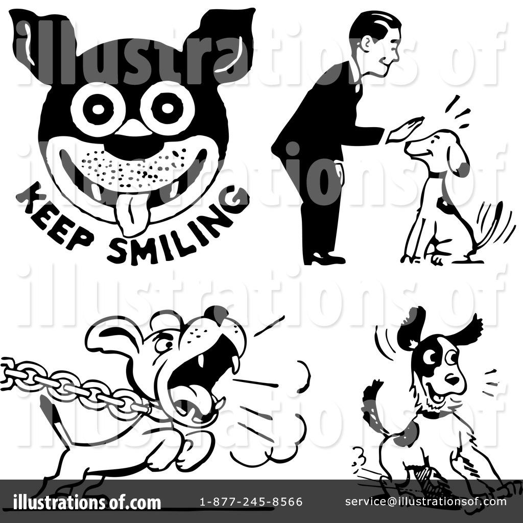 Royalty Free Rf Fierce Dog Clipart Illustrations Vector Graphics | Dog