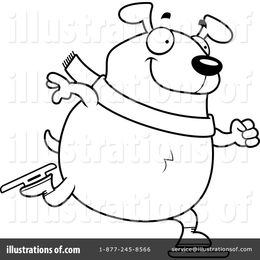 Royalty-Free (RF) Dog Clipart Illustration by Cory Thoman - Stock ...