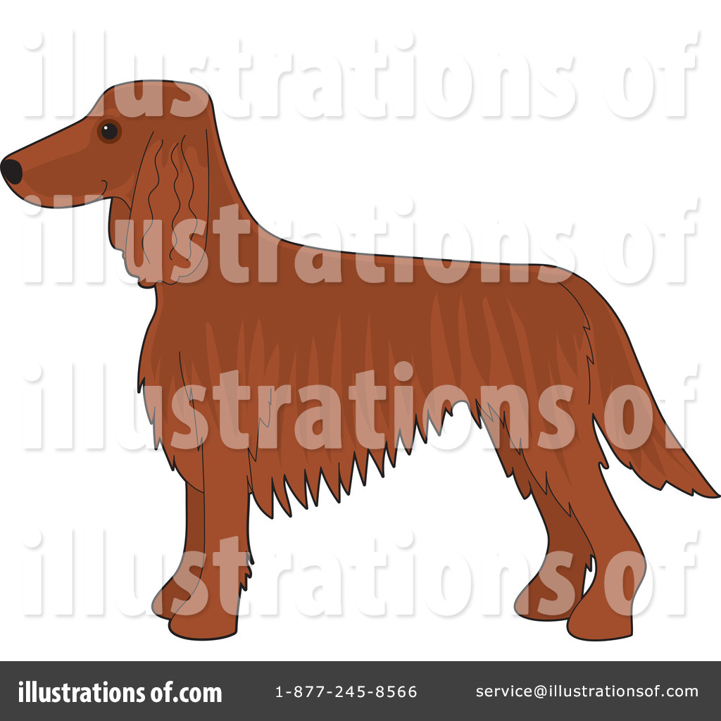 Royalty-Free (RF) Dog Clipart Illustration by Maria Bell - Stock