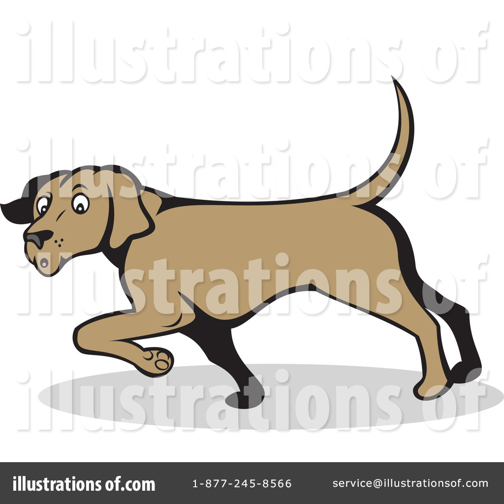 Royalty-Free (RF) Dog Clipart Illustration by patrimonio - Stock