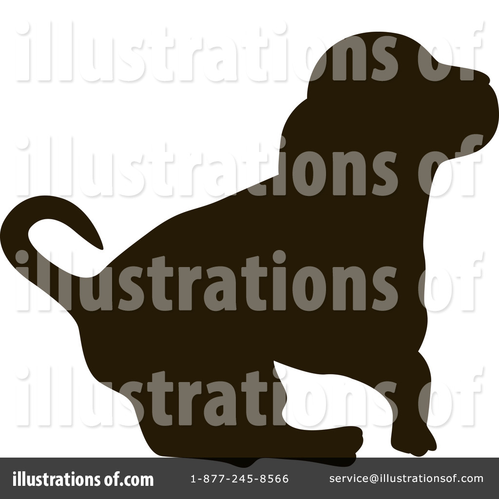Dog Silhouette Clipart 72589 By Pauloribau Royalty Free Rf Stock Dog ...