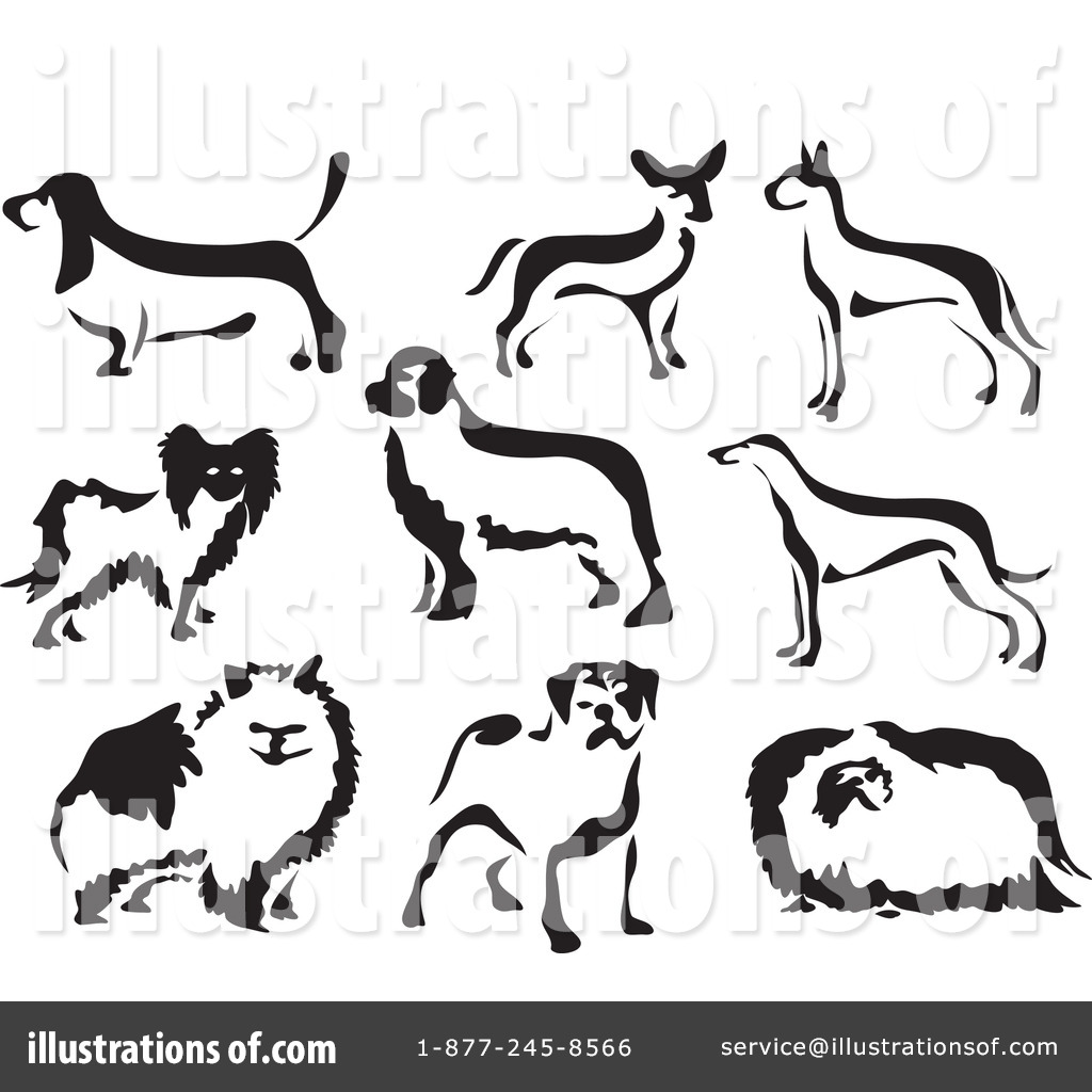 Royalty-Free (RF) Dogs Clipart Illustration by Prawny - Stock Sample