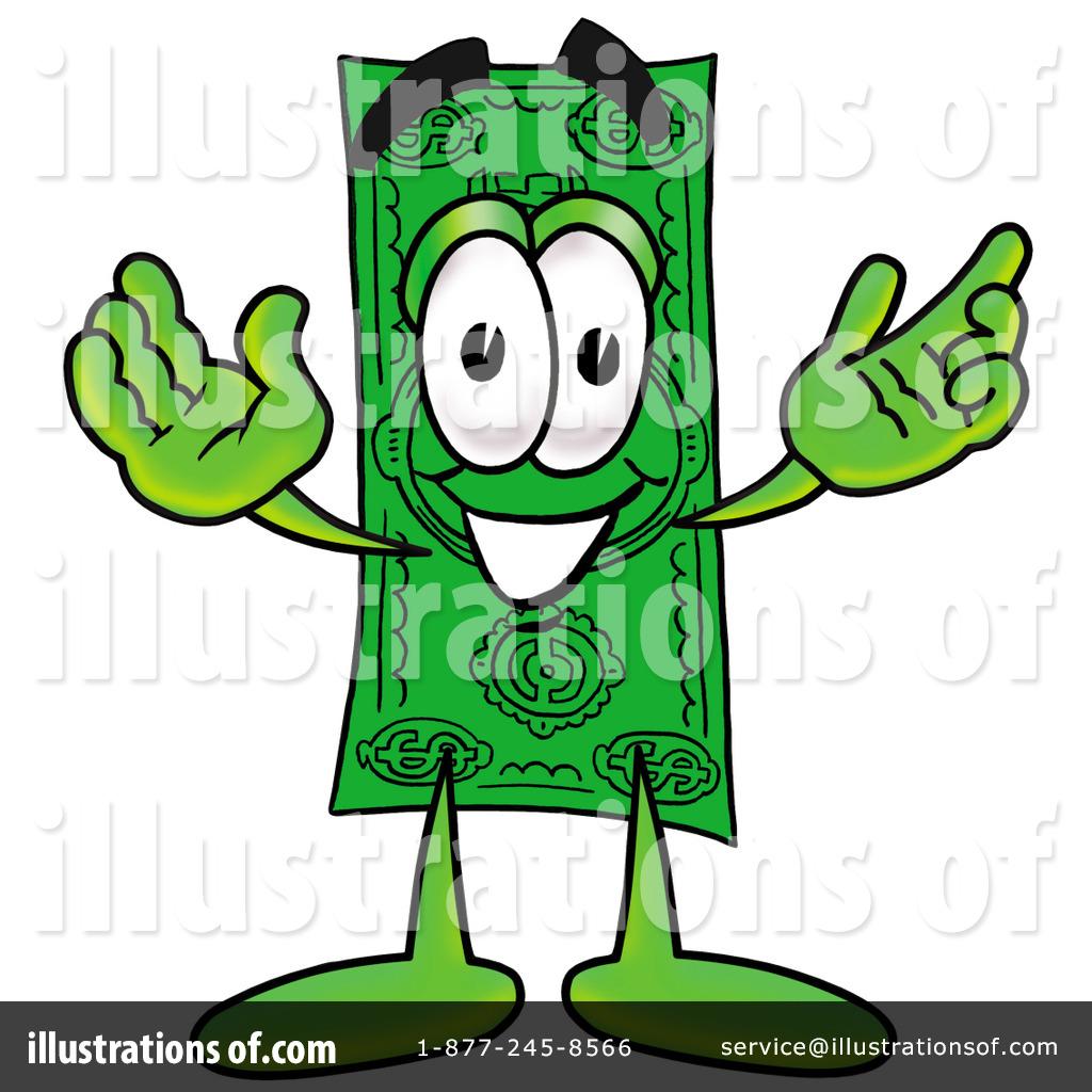 dollar bill clipart 8403 illustration by toons4biz rh illustrationsof com clip art 100 dollar bill clip art 5 dollar bill