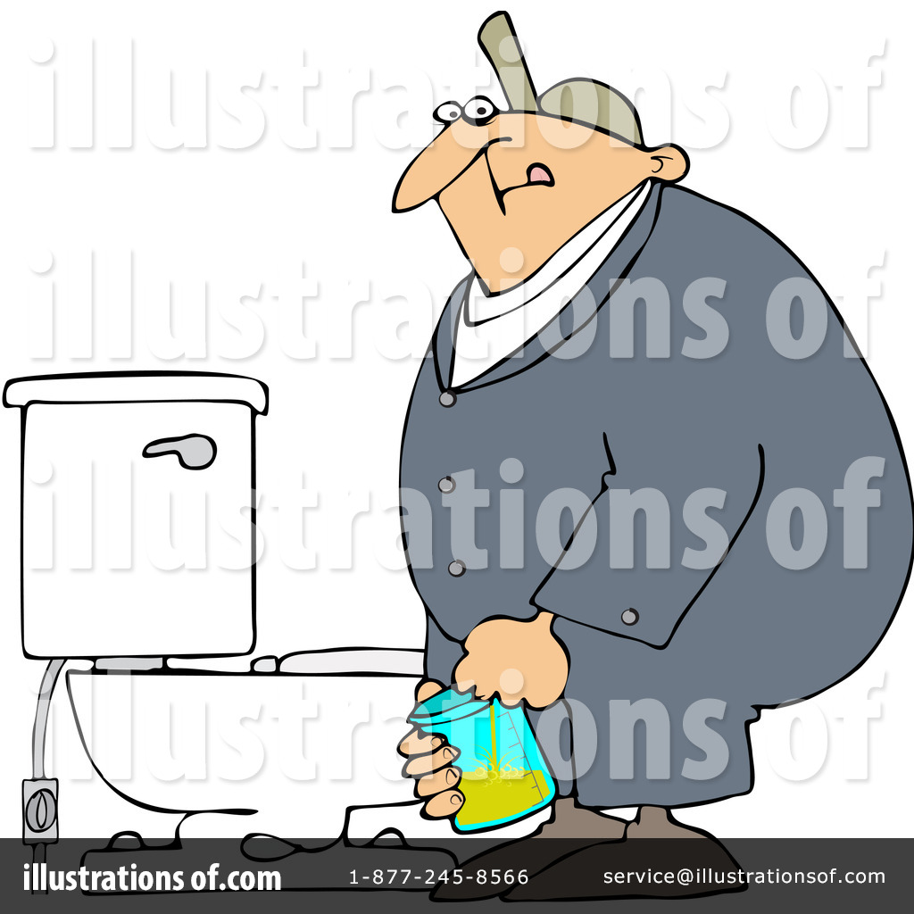 Clipart Man Peeing