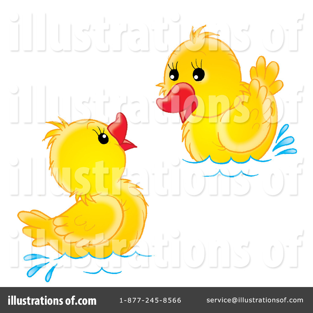 Ducks Clipart #31170 - Illustration by Alex Bannykh
