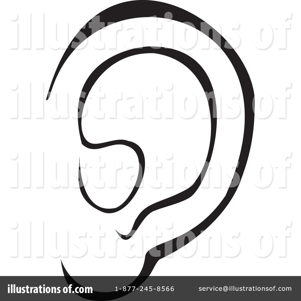 Royalty-Free  RF  Ear Clipart  Ear Clip Art Images