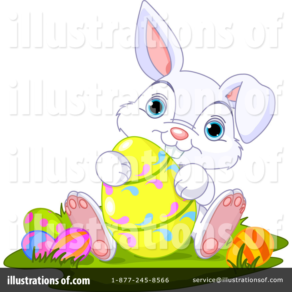 royalty-free-rf-easter-bunny-clipart-illustration-by-pushkin-stock ...