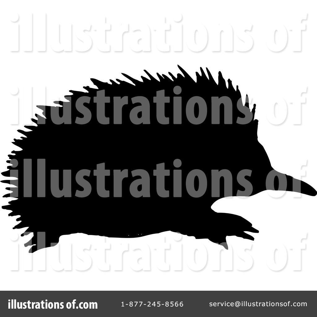 Echidna Clipart #43019 - Illustration by Dennis Holmes Designs