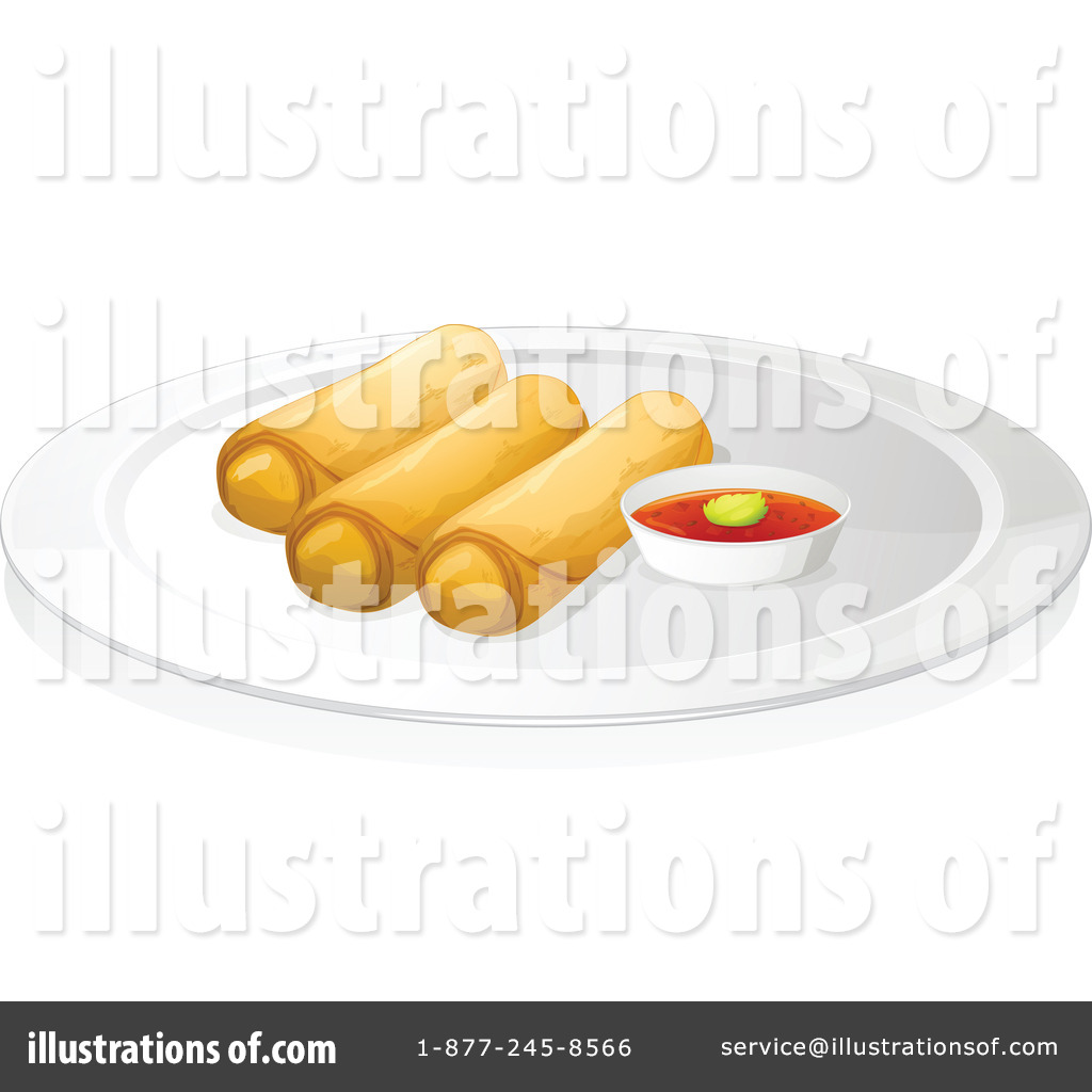 free clipart spring rolls - photo #7