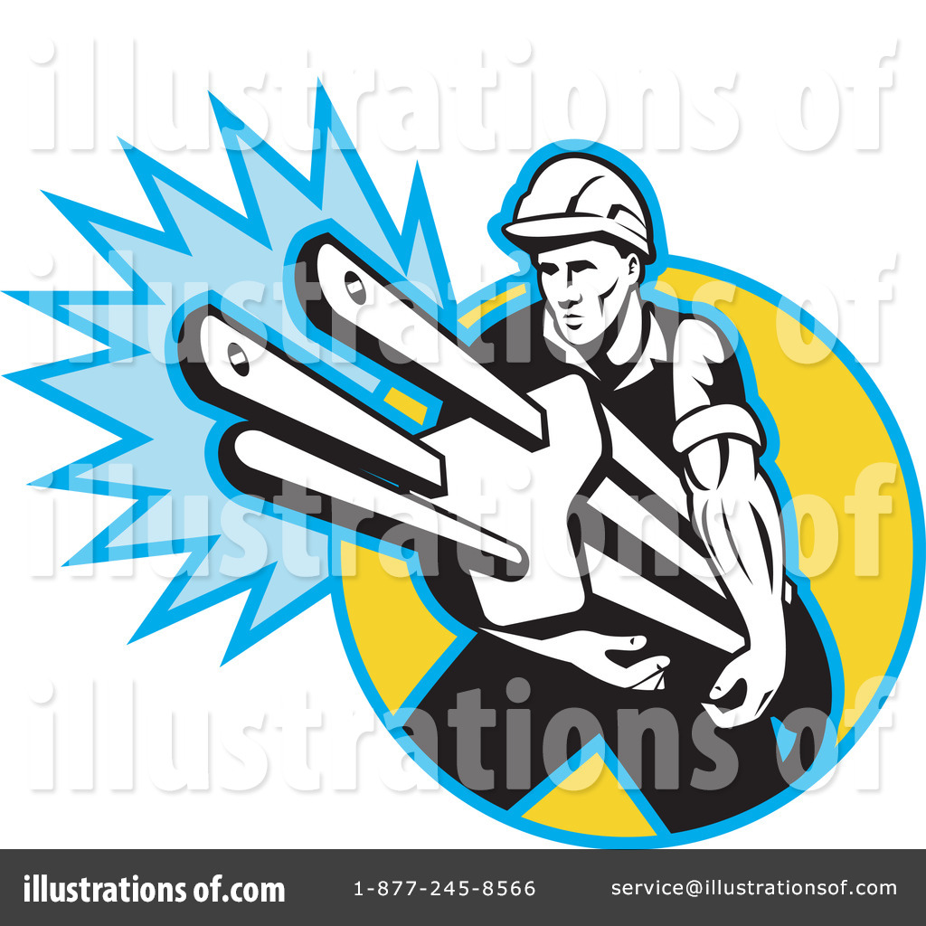 Royalty Free RF Electrician Clipart Illustration 229307 By Patrimonio