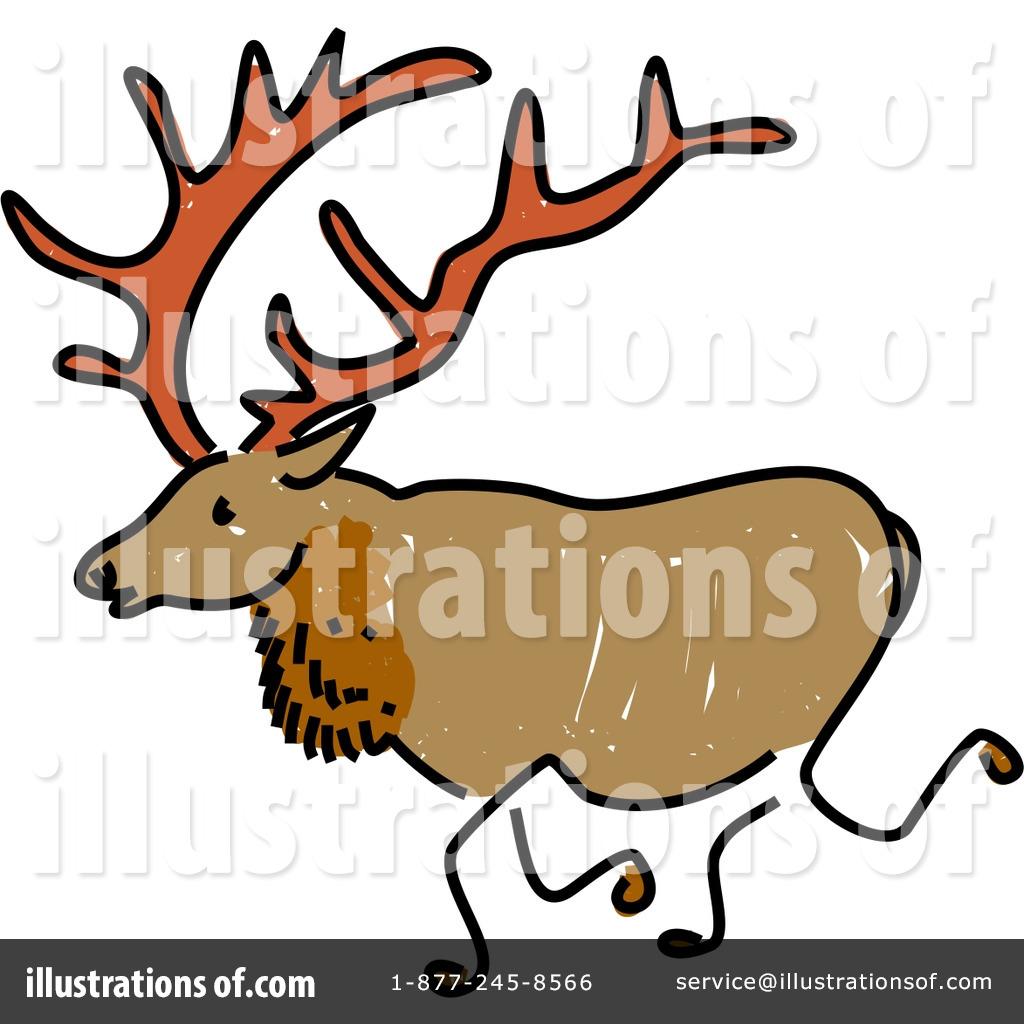 Elk Clipart #41787 - Illustration by Prawny