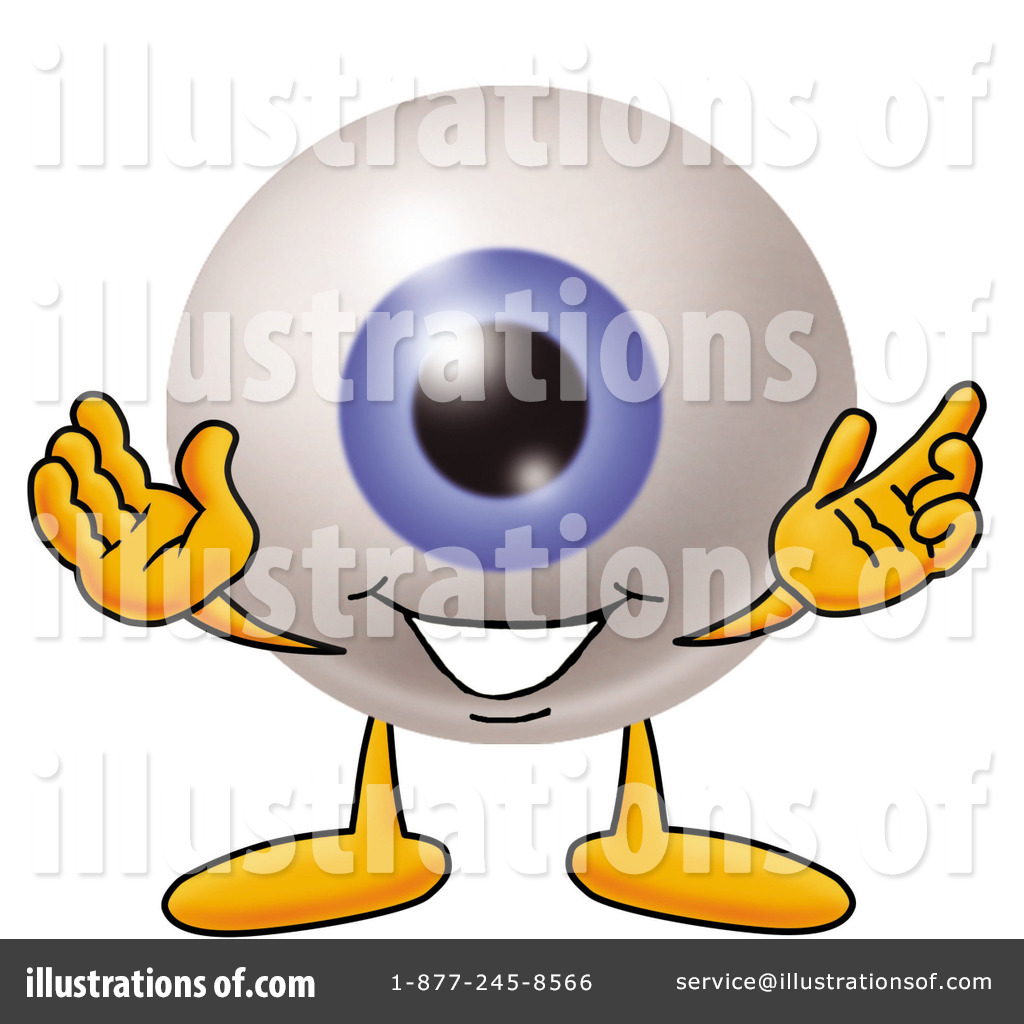 Eyeball Clipart #7295 - Illustration by Toons4Biz