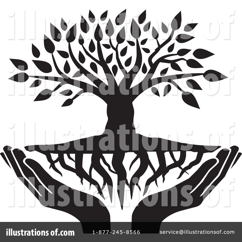 clipart family tree with roots - photo #40