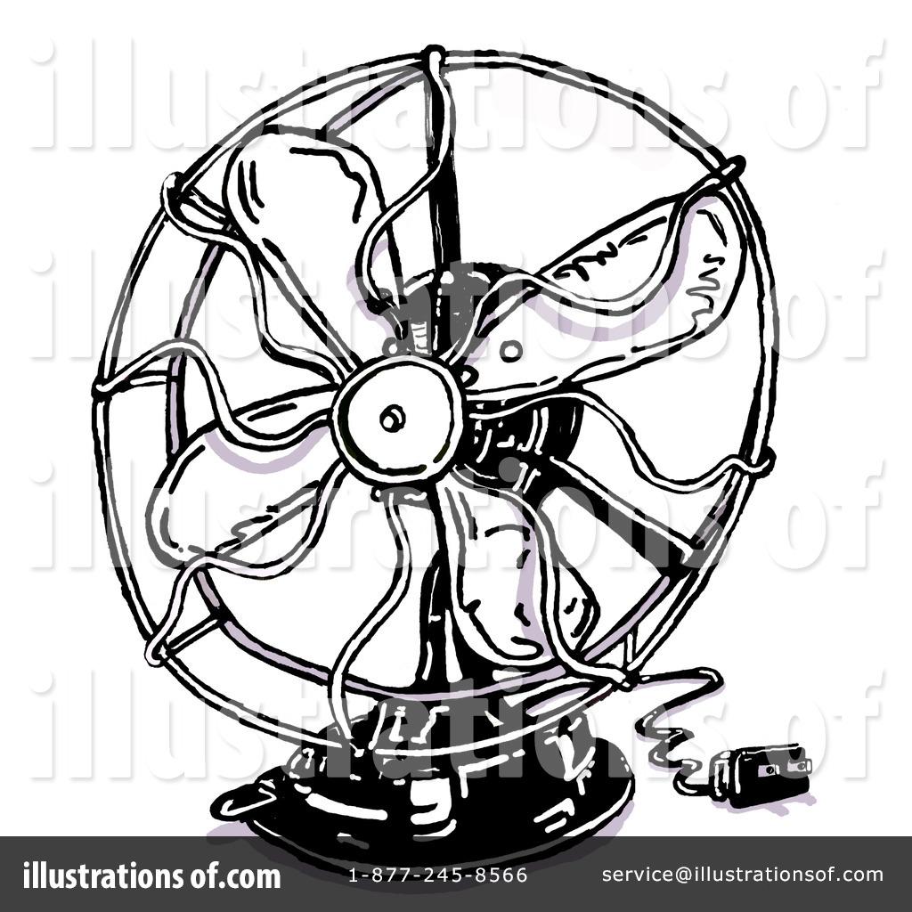 Fan Clipart #30740 - Illustration by Spanky Art