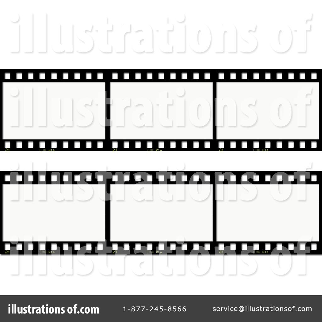 Film Strip Clipart 25980 Illustration By Kj Pargeter