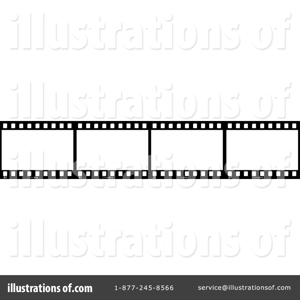 Film Strip Clipart #30087 - Illustration by KJ Pargeter