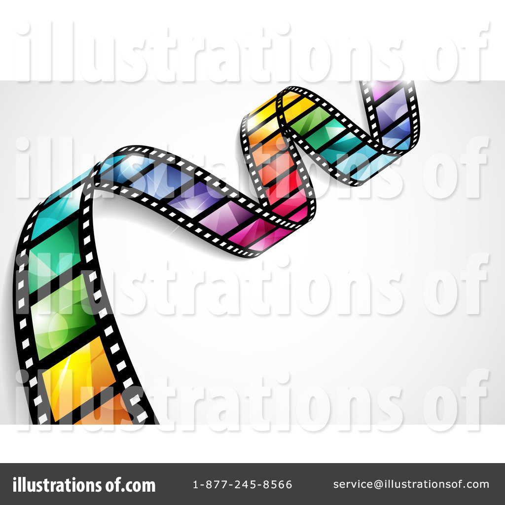 Film Strip Clipart #1092089 - Illustration by TA Images | 1024 x 1024 jpeg 171kB