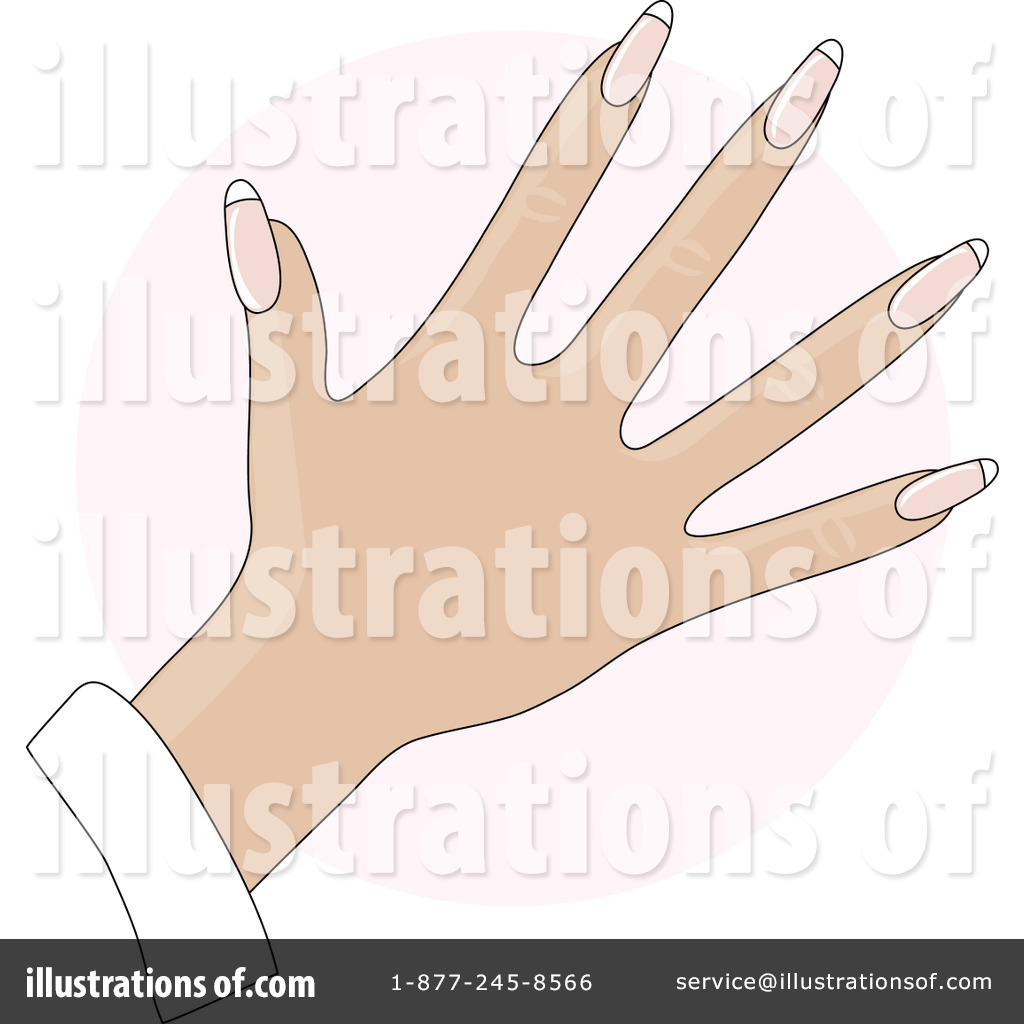 Royalty Free RF Fingernails Clipart Illustration 20482 By Maria Bell
