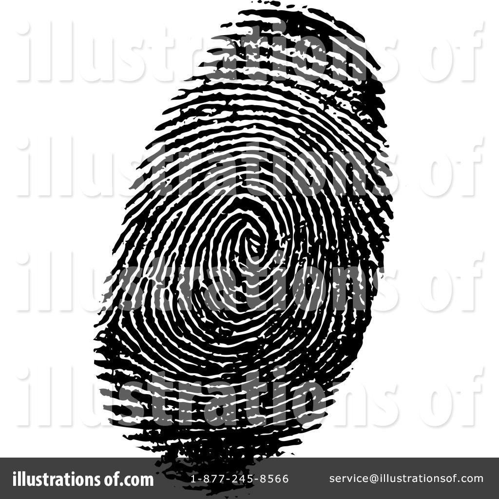 Fingerprint Clipart #30113 - Illustration by KJ Pargeter