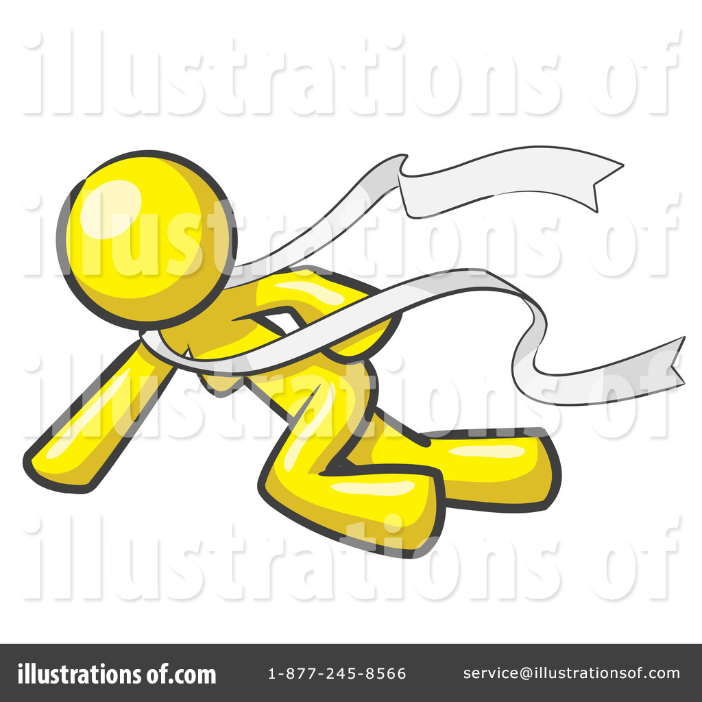 Finish Line Clipart #47970 - Illustration by Leo Blanchette