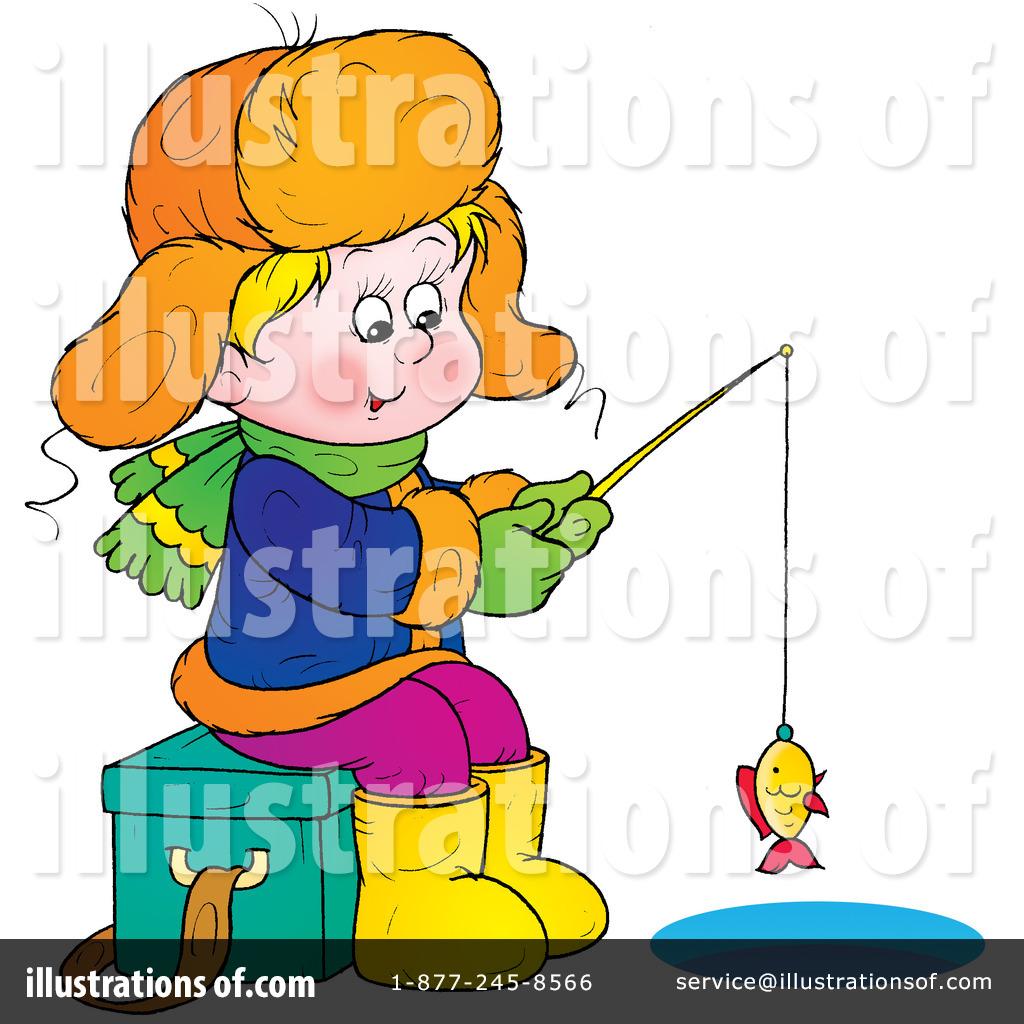 Kids Ice Fishing Clip ...