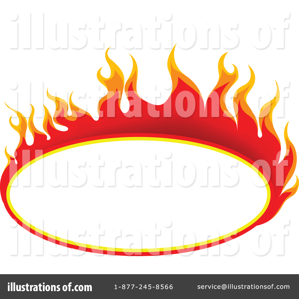 Flames Clipart 1450239 Illustration By Dero