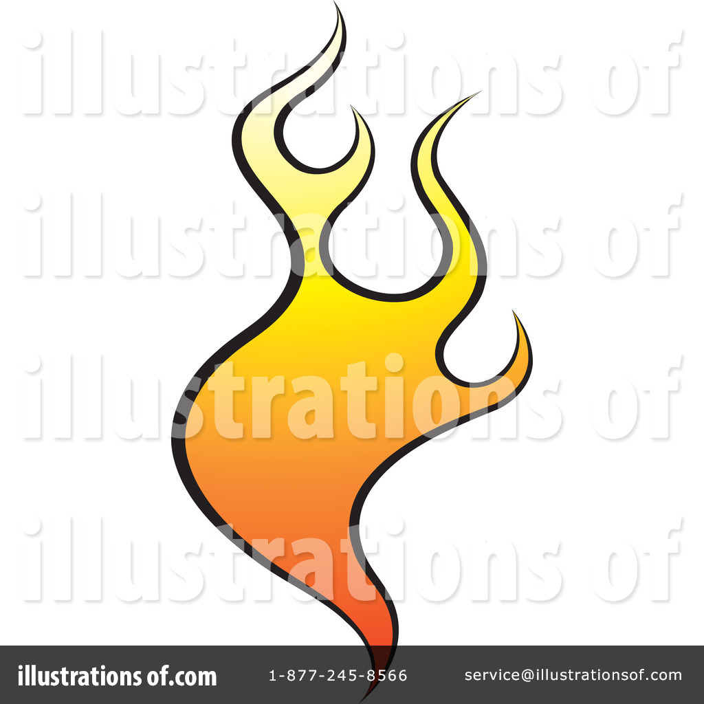 Royalty free rf flames clipart illustration by lal perera stock