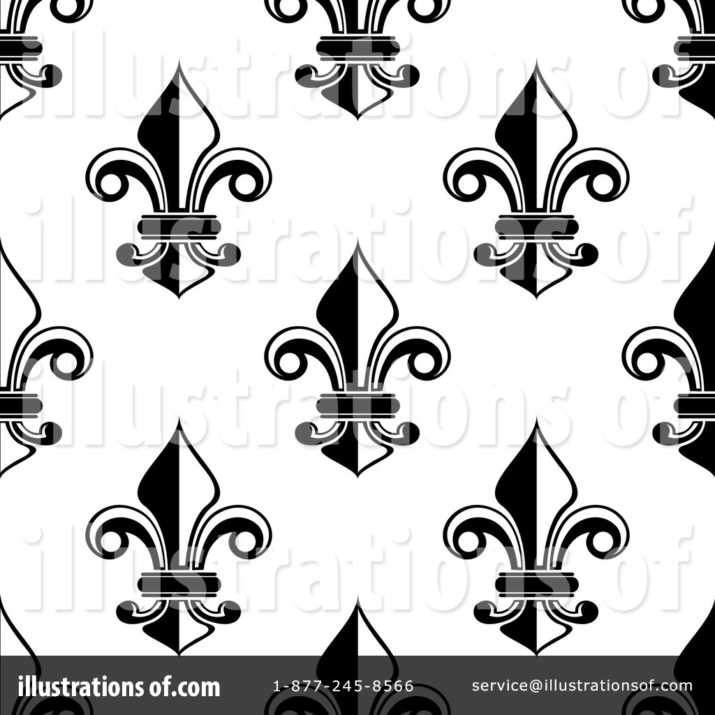 Fleur De Lis Clipart #1255439 - Illustration by Seamartini Graphics