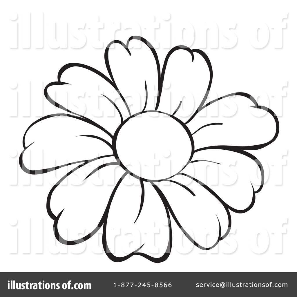 Daisy Flower Coloring Pages #9