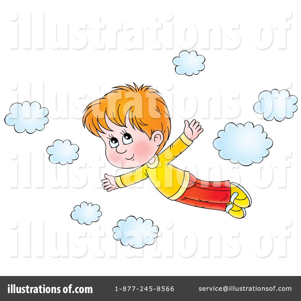 Flying Clipart #229857 - Illustration by Alex Bannykh