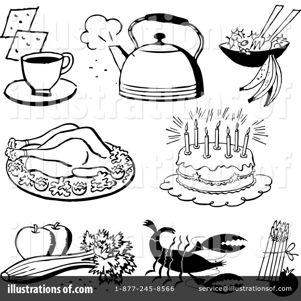 Food Clipart #1156616 - Illustration by BestVector