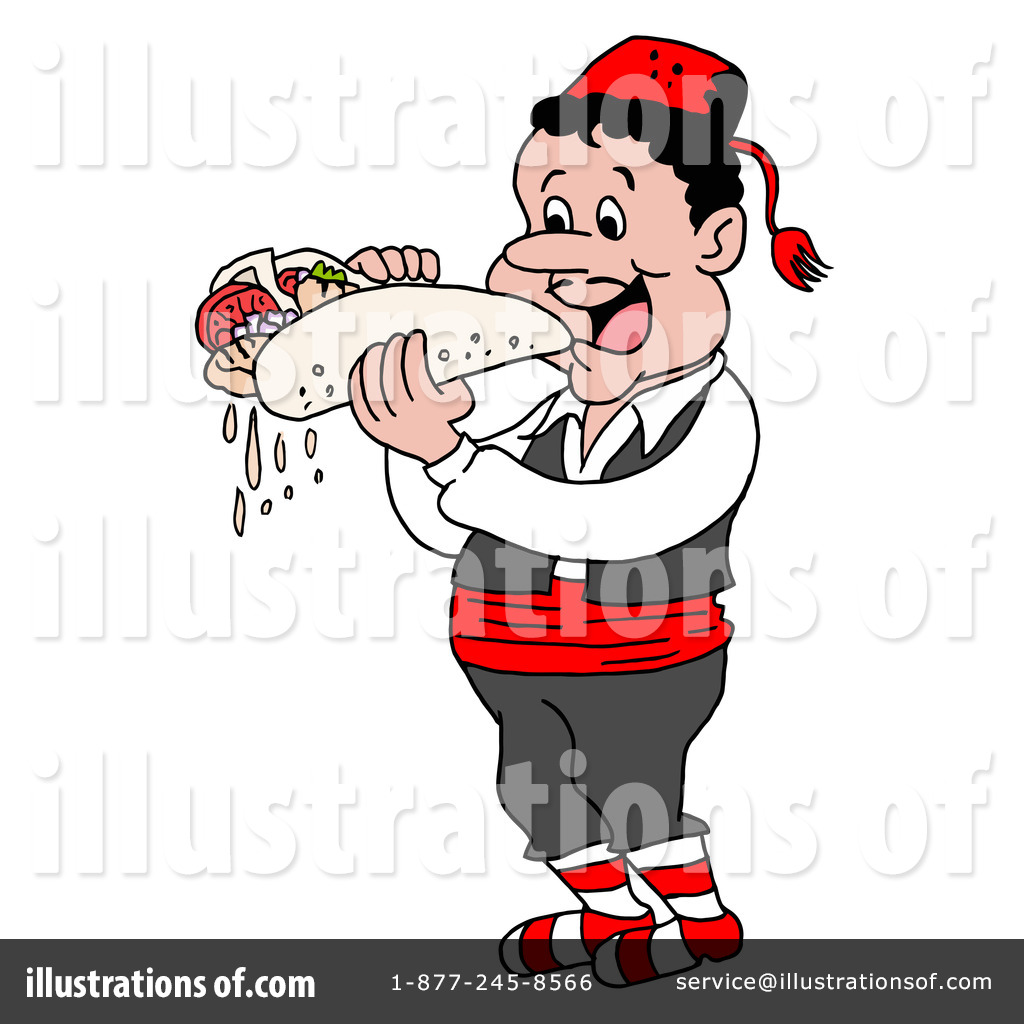 ... Free (RF) Food Clipart Illustration by LaffToon - Stock Sample #33484