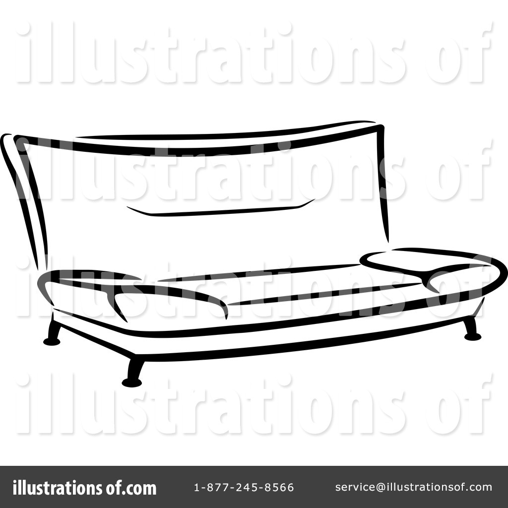 Good Royalty Free (RF) Furniture Clipart Illustration By Vector Tradition SM    Stock Sample