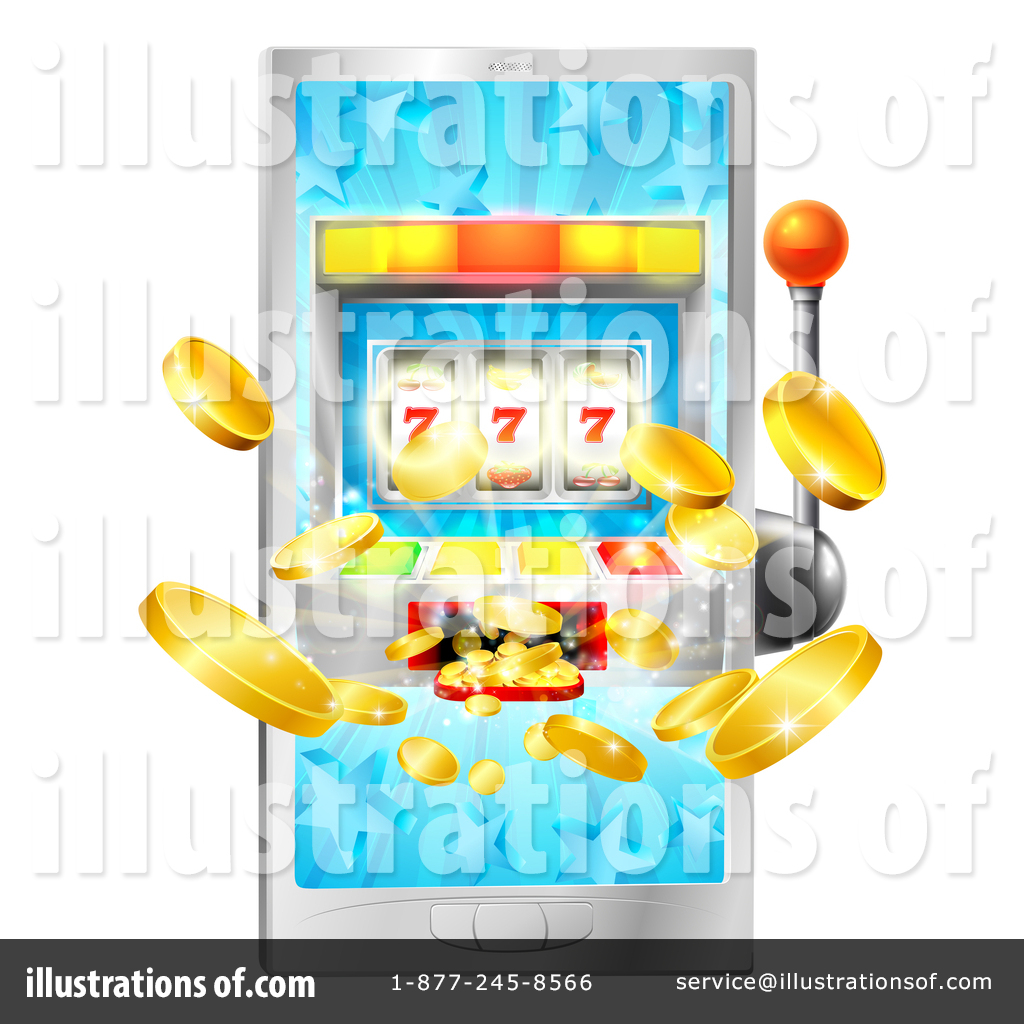 Gambling Clipart #1415401 - Illustration by AtStockIllustration