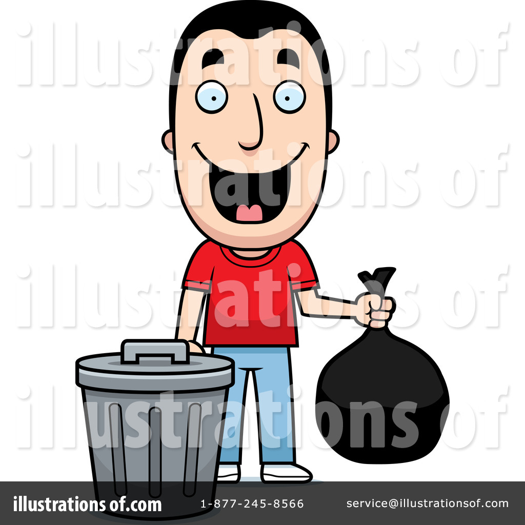 Garbage Can Clipart #1111276 by Cory Thoman | RoyaltyFree (RF) Stock