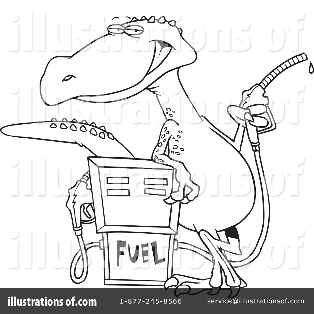 gas station coloring page - photo #12