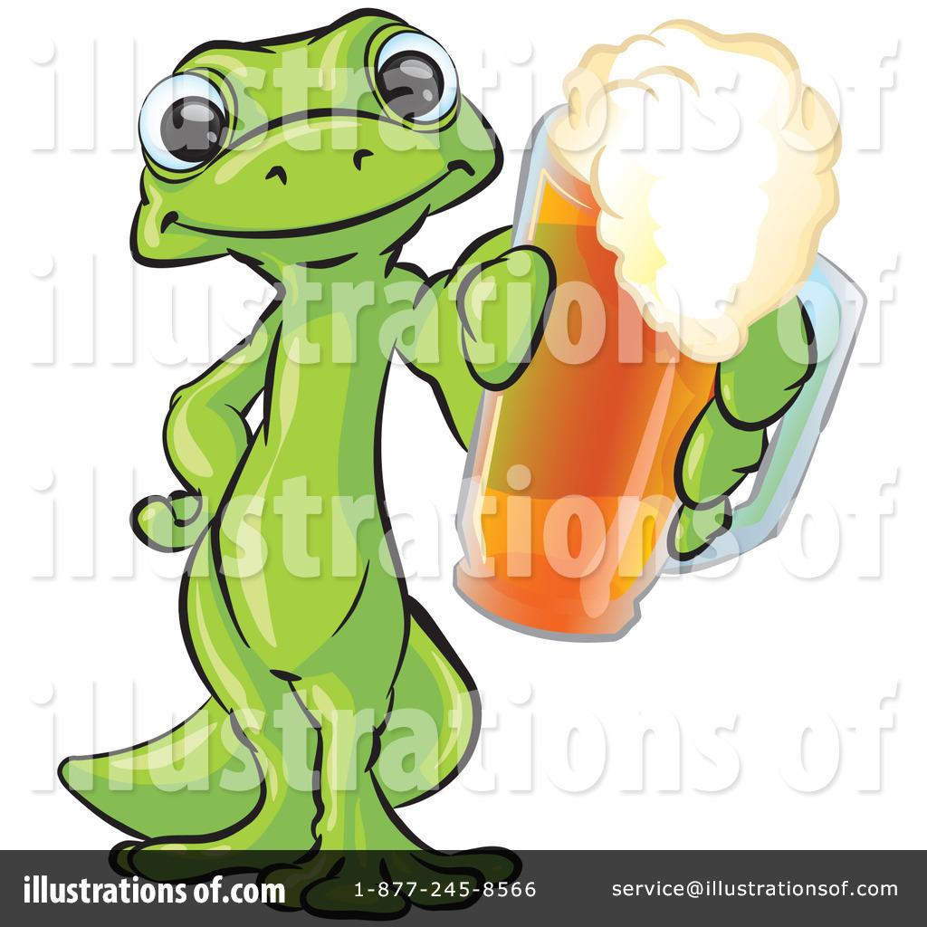 gecko clipart #14576 - illustrationleo blanchette