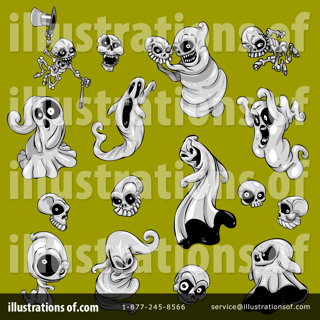 Ghost Eyes Clip Art (rf) ghosts clipart