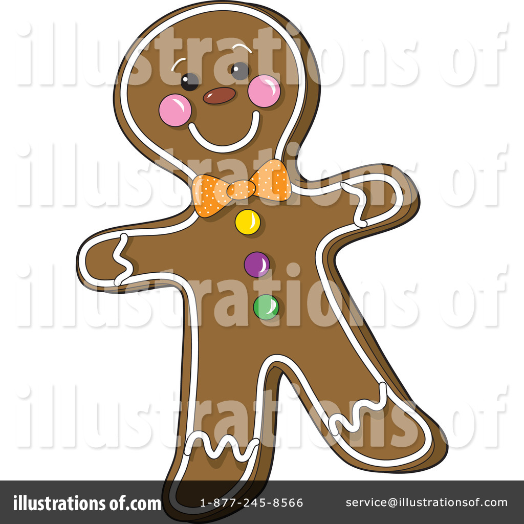 Gingerbread man clipart 17126 illustration by maria bell royalty free rf gingerbread man clipart illustration by maria bell stock sample voltagebd Image collections