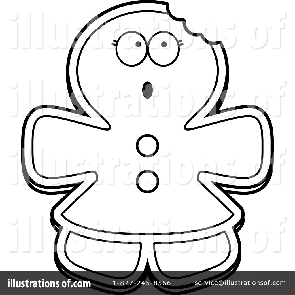 Gingerbread Woman Clipart 1171448 By Cory Thoman Royalty Free RF