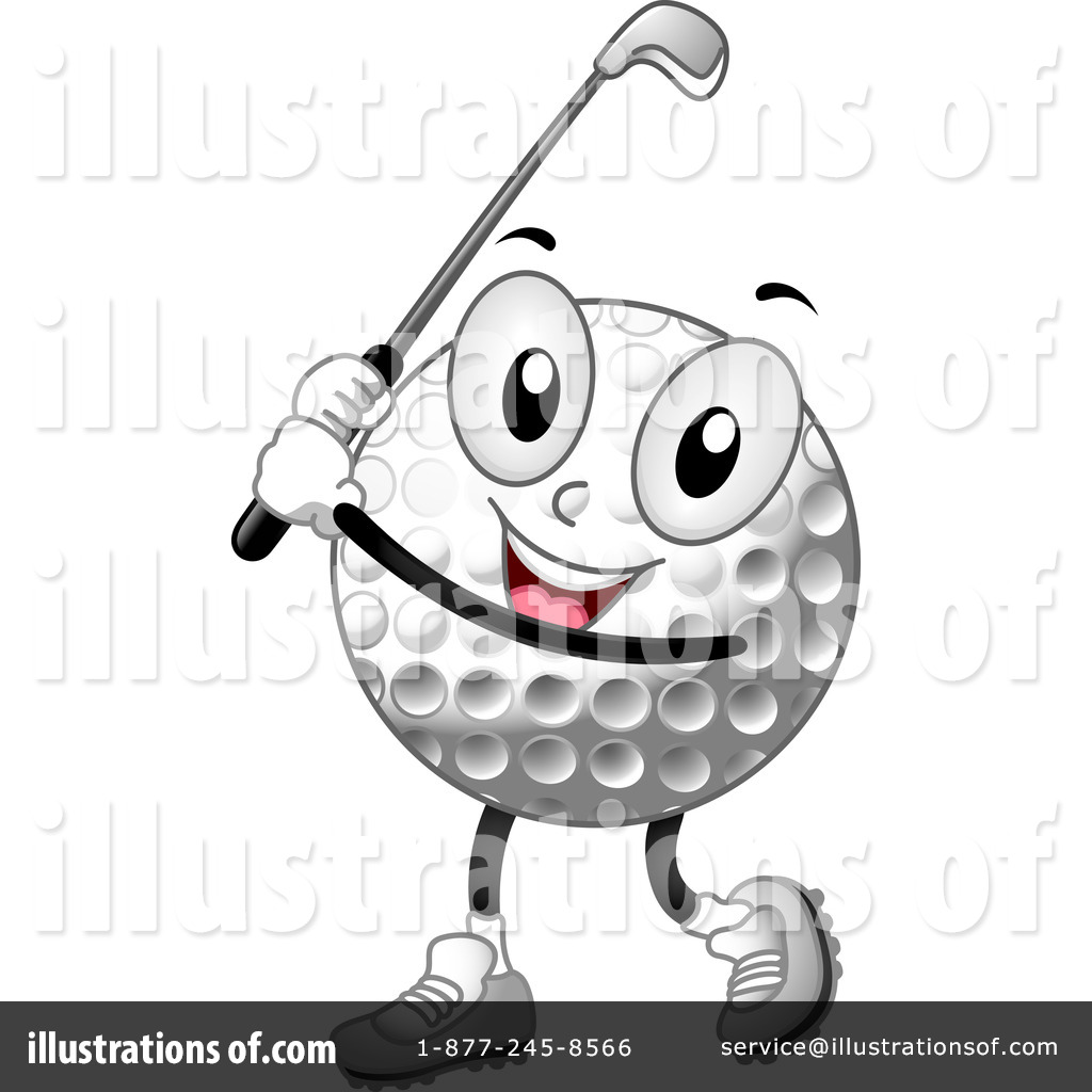 Golf Clipart #1101797 - Illustration by BNP Design Studio